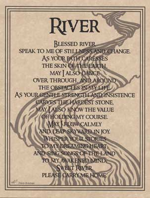 River Prayer poster