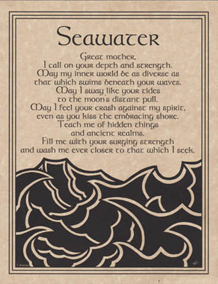 Seawater Prayer poster