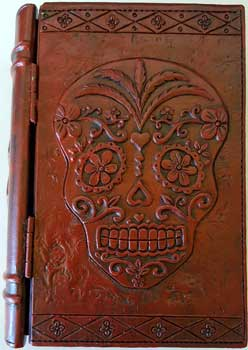 "4"" x 6"" Day of the Dead book box"