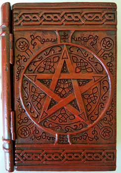 "4"" x 6"" Pentagram book box"