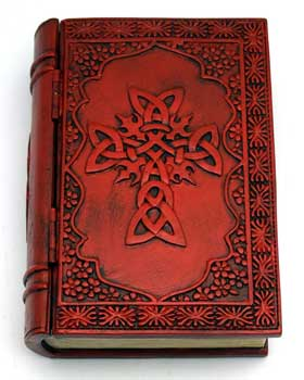 "4"" x 6"" Celtic Cross book box"