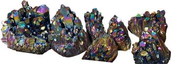 5# Quartz cluster with Black color