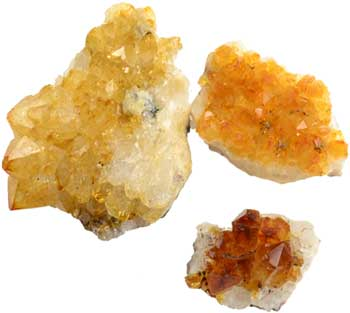 Flat of Citrine Druse