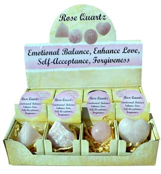 Rose Quartz gift box (set of 12)