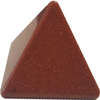 30-35mm Goldstone, Red pyramid