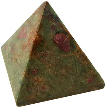30- 35mm Ruby Zoisite pyramid