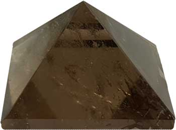 25-30mm Smoky Quartz pyramid