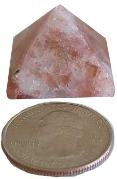 15-30mm Sunstone pyramid