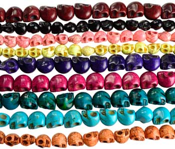 * Howlite Skull various sizes & colors (was $7.95)