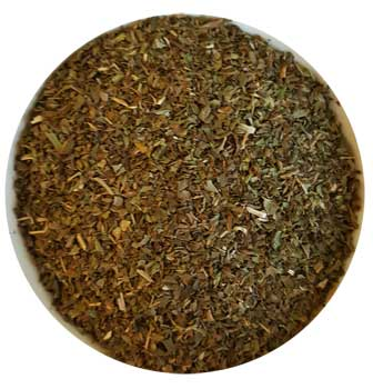 Peppermint Leaf cut 1oz (Mentha piperita)