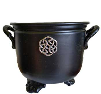 "4 1/2"" Celtic Cauldron"