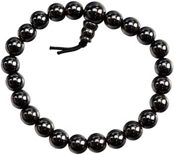 Hematite (man-made) Power bracelet