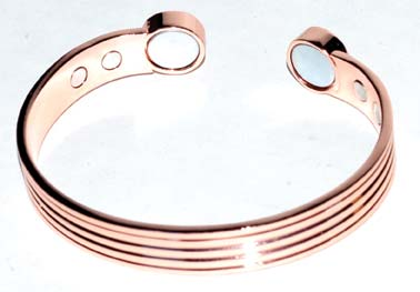 Copper Magnetic bracelet with 4 magnets