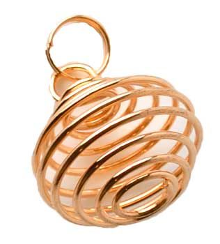 "1"" Copper Plated coil"