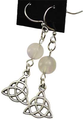 FluoriteTriquetra earrings
