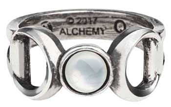 Triple Goddess ring size 9.5
