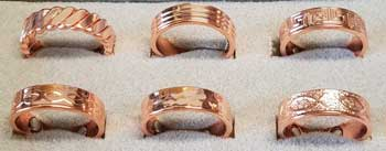 Copper Magnetic adjustable ring