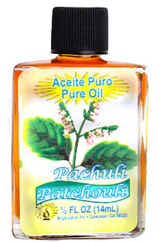 Patchouli, Pure oil 4 dram