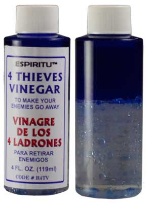 4oz Four Thieves Vinegar (Vinagre de Los 4 Ladrones)
