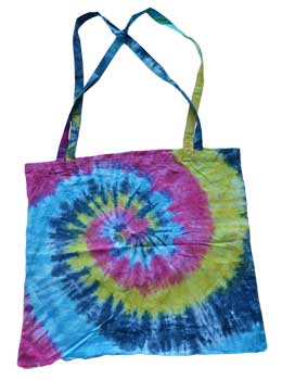 "18"" x 18"" Spiral Tote Bag"