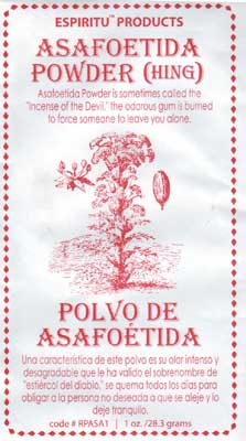 Asafoetida Ritual powder 1oz