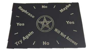 "8""x12"" Pentagram pendulum map"