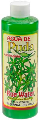 8oz Rue (Ruda) water