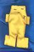 Yellow Voodoo Doll  5""