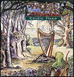 CD: Hooded Man:  Celtic Harp Music by Jerry Marchand