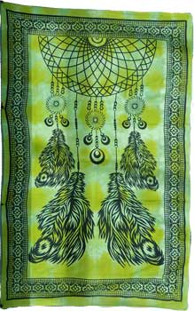 "72"" x 108"" Dream Catcher tapestry"