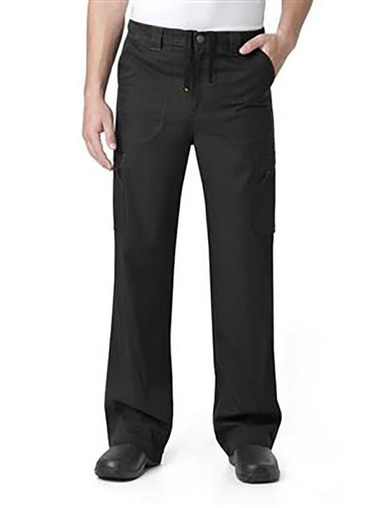 Carhartt Men's Multi-Pocket Scrub Pant | Cargo | Black - Scrub Pro Uniforms