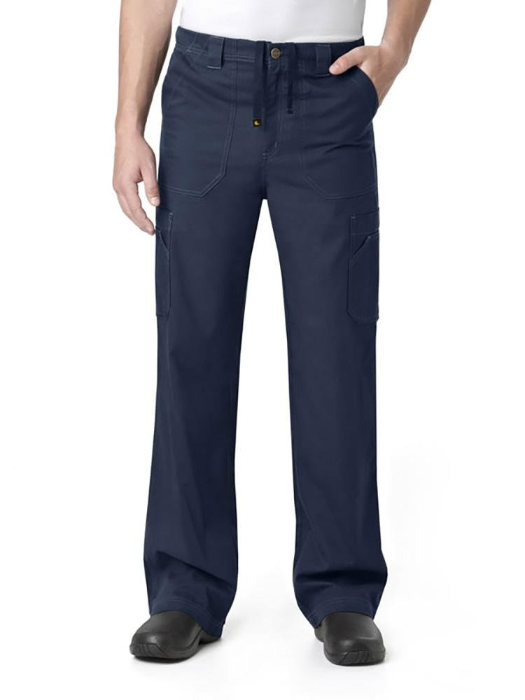 Carhartt Men's Multi-Pocket Scrub Pant | Cargo | Navy - Scrub Pro Uniforms