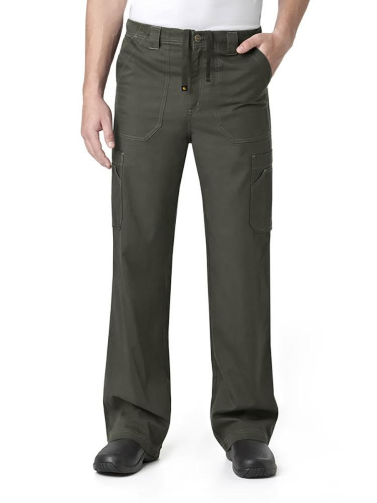 Carhartt Men's Multi-Pocket Scrub Pant | Cargo | Olive - Scrub Pro Uniforms