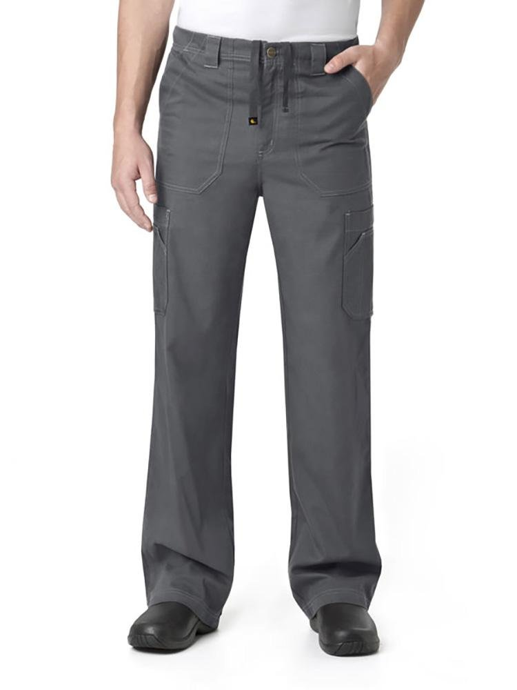 Carhartt Men's Multi-Pocket Scrub Pant | Cargo | Pewter - Scrub Pro Uniforms