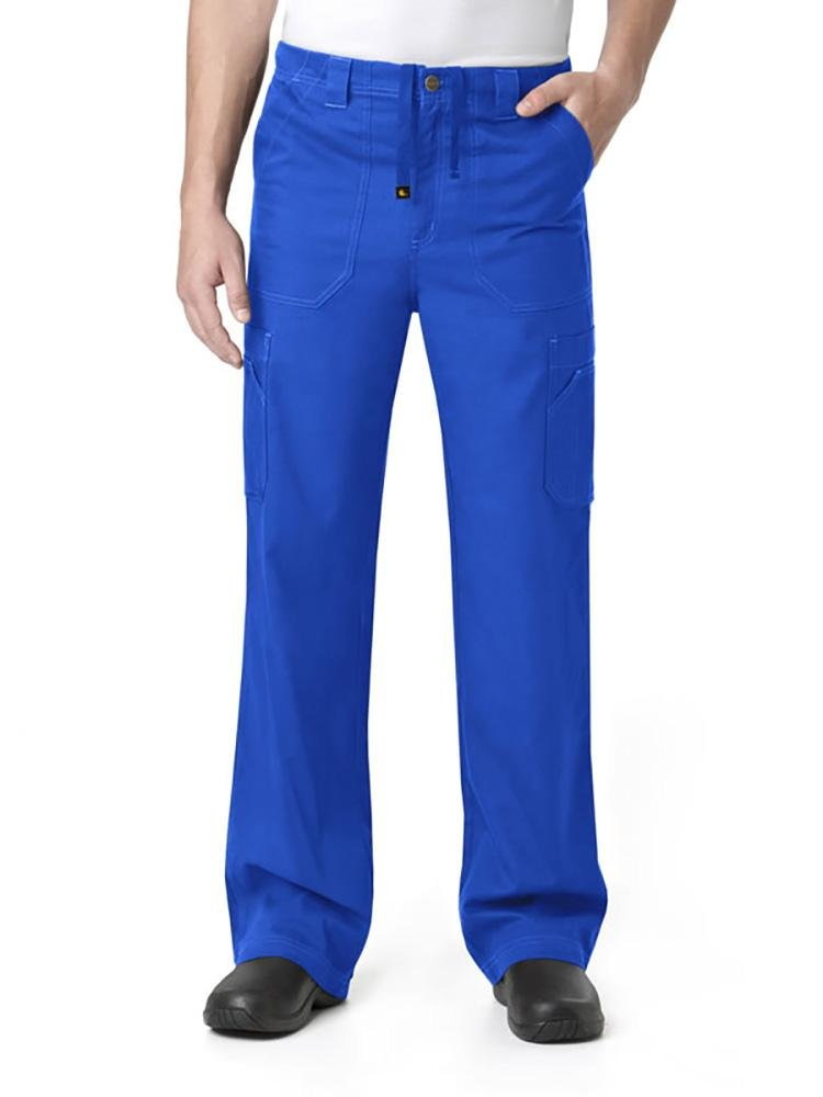 Carhartt Men's Multi-Pocket Scrub Pant | Cargo | Royal - Scrub Pro Uniforms