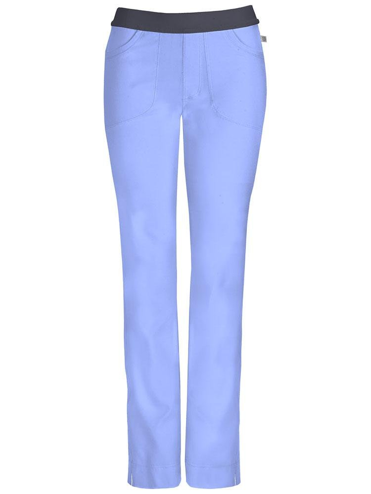 Cherokee Infinity Women's Low-Rise Slim Pull On Scrub Pant | Ciel - Scrub Pro Uniforms