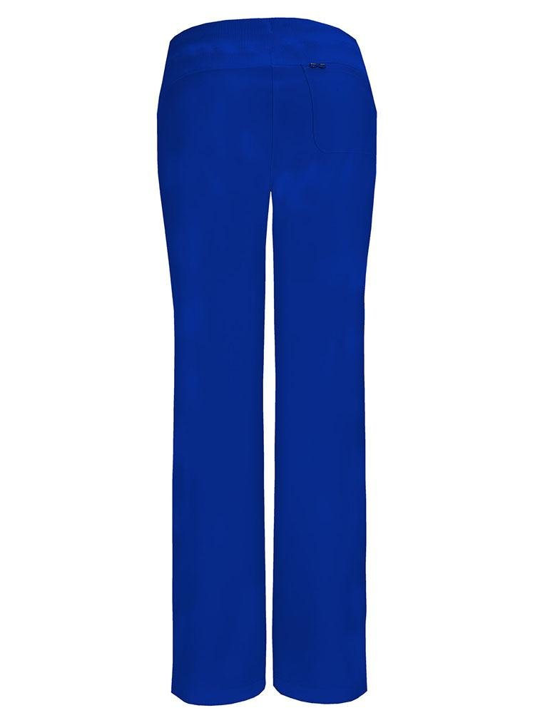 Cherokee Infinity Women's Low-Rise Straight Leg Scrub Pant | Galaxy Blue - Scrub Pro Uniforms