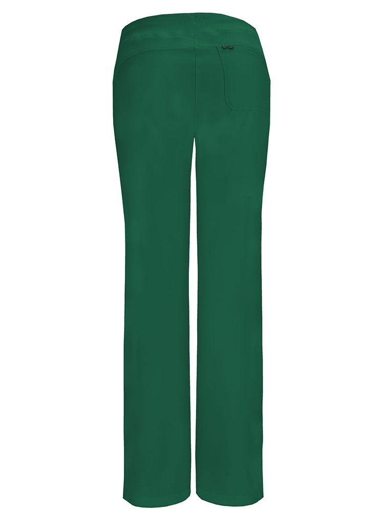Cherokee Infinity Women's Low-Rise Straight Leg Scrub Pant | Hunter - Scrub Pro Uniforms