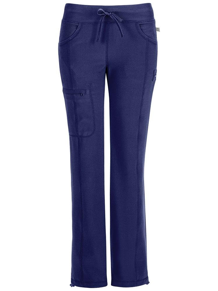 Cherokee Infinity Women's Low-Rise Straight Leg Scrub Pant | Navy - Scrub Pro Uniforms