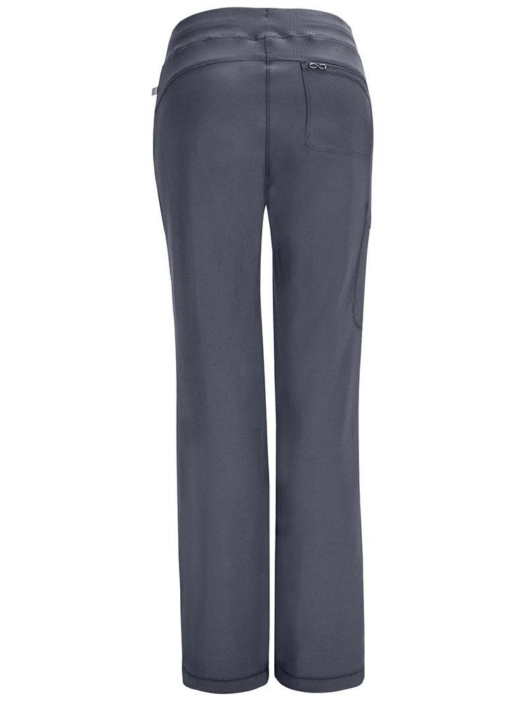 Cherokee Infinity Women's Low-Rise Straight Leg Scrub Pant | Pewter - Scrub Pro Uniforms