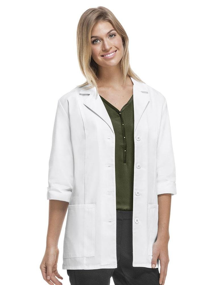"Cherokee Women's Modern 30"" 3/4 Sleeve Lab Coat 