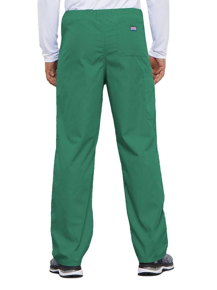 Cherokee Workwear Originals Unisex Drawstring Cargo Scrub Pant | Surgical Green - Scrub Pro Uniforms