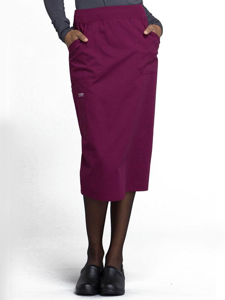 "Cherokee Workwear Professionals Women's 30"" Scrub Skirt 