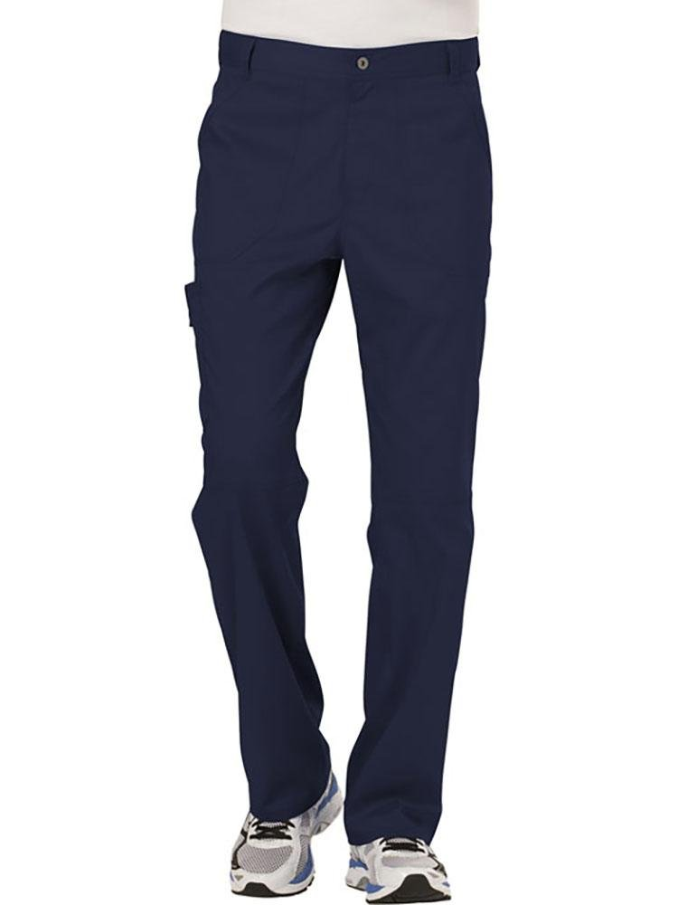 Cherokee Workwear Revolution Men's Drawstring Cargo Scrub Pant | Navy - Scrub Pro Uniforms