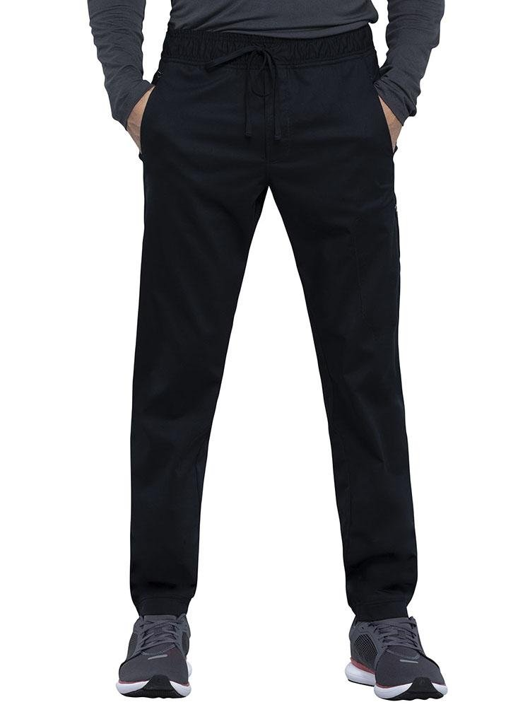 Cherokee Workwear Revolution Men's Jogger Scrub Pant | Black - Scrub Pro Uniforms
