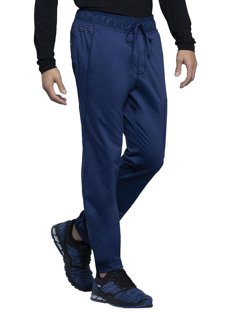 Cherokee Workwear Revolution Men's Jogger Scrub Pant | Navy - Scrub Pro Uniforms