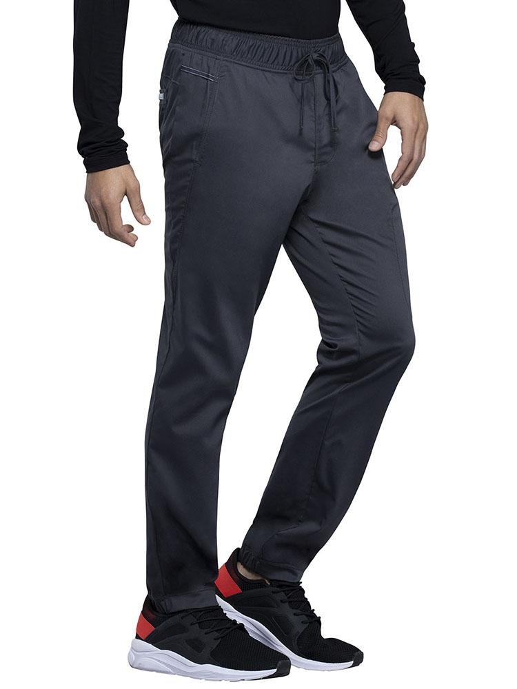 Cherokee Workwear Revolution Men's Jogger Scrub Pant | Pewter - Scrub Pro Uniforms