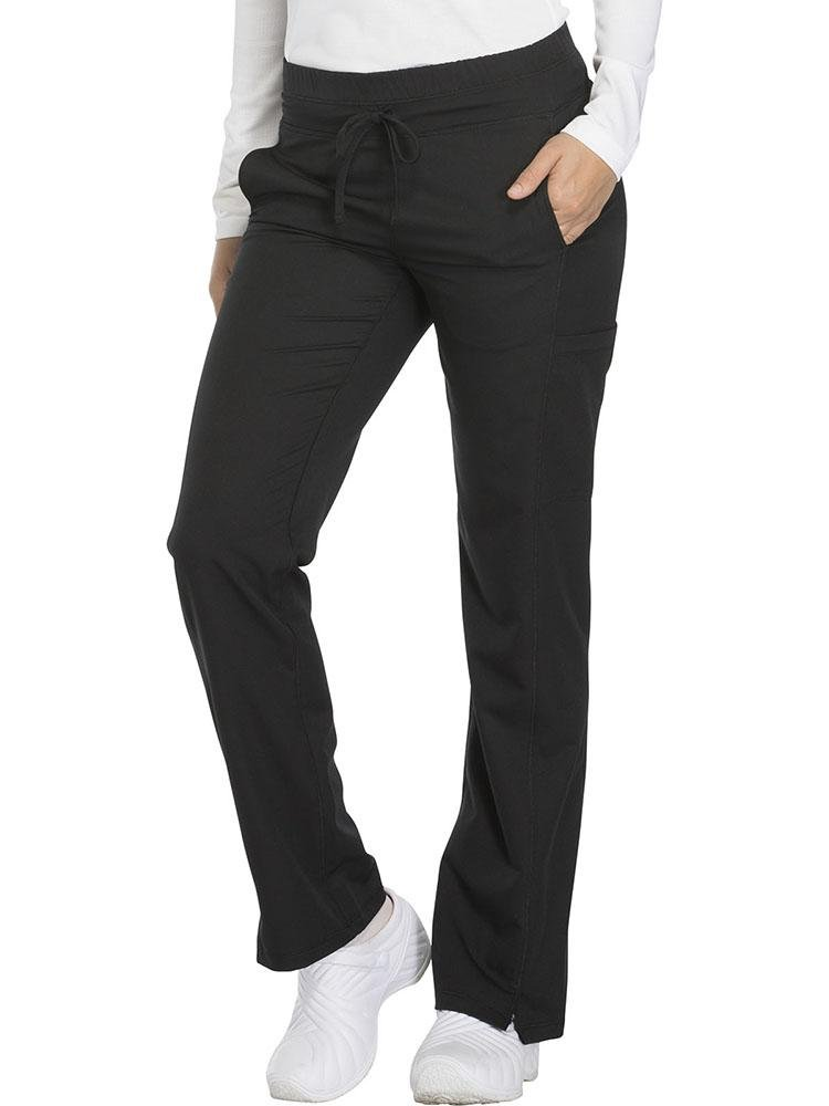 Dynamix Women's Drawstring Scrub Pant | Black - Scrub Pro Uniforms