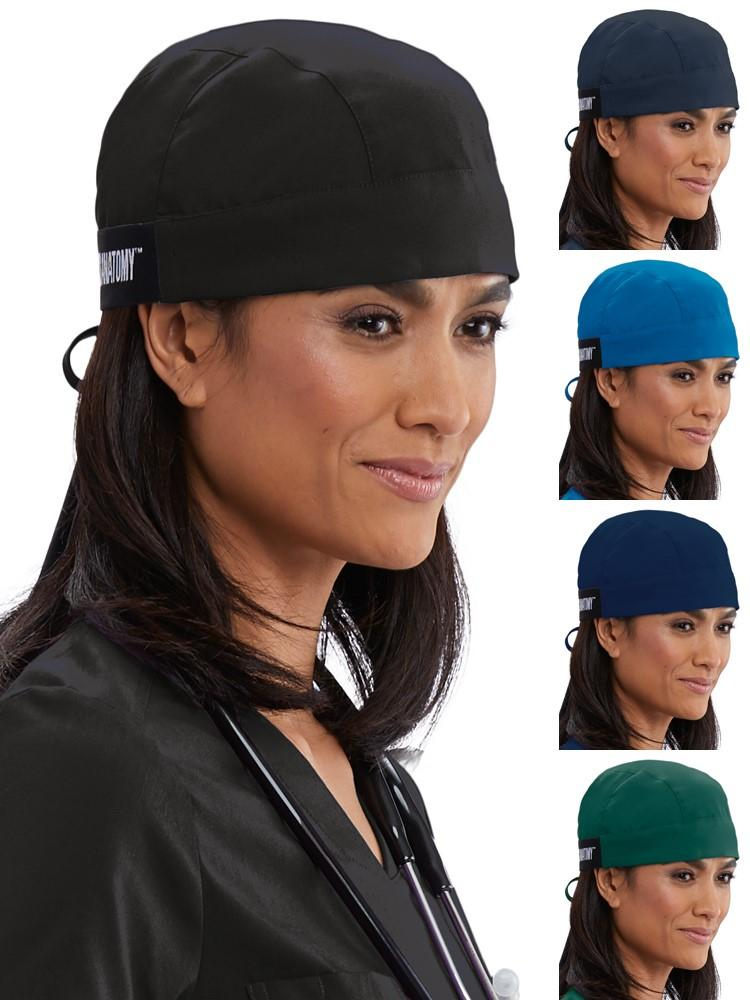 Grey's Anatomy Unisex Scrub Fitted Cap w/ Ties - Scrub Pro Uniforms
