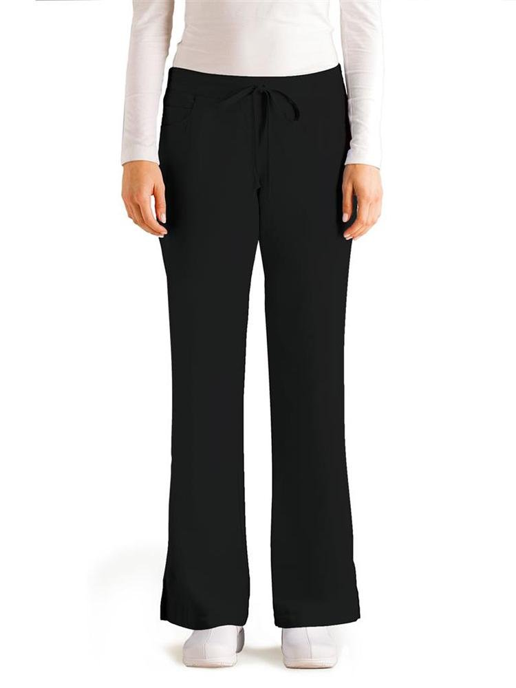 Grey's Anatomy Women's Cargo Scrub Pant | Black - Scrub Pro Uniforms